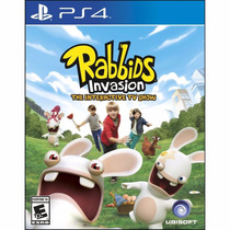 Jogo Rabbids Invasion - Ps4 - Playstation 4