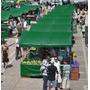 Lona Ck 300 Verde Impermeável Para Barraca De Feira 10x9 M