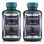 2 X Oleo De Cartamo Com Coco 120 Capsulas De 1000mg