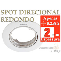 Spot Redondo De Embutir Direcional Para Lampada Dicroica