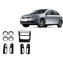 Kit Painel Black Piano Painelkit Vw Gol G5 Voyage G5