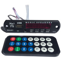 Placa Decodificador Ecopower Caixa Ativa Usb Fm Bluetooth