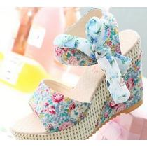 Sapato Plataforma (oriental) Japonês Import. Pronta Entrega