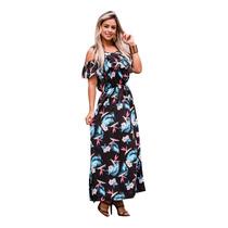 Busca Vestido Longo Estampado Com Os Melhores Preços Do