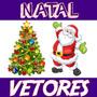 Vetores Natal Ano Novo Estampas Corel Imagens Natalino Vetor