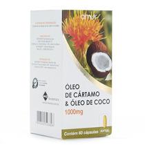 Oleo De Cartamo + Coco 1000mg Amur 60 Capsulas