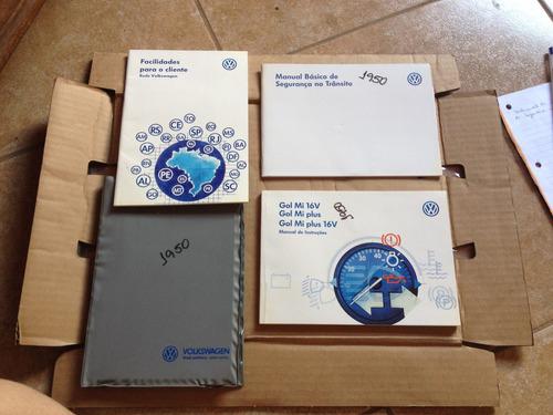 Gol Mil 16v Plus 1998 1999 Manual Do Proprietário Original
