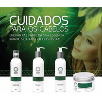 Shampoo + Condicionador + Leave-in + Máscara (noni)