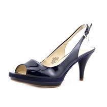 Nine West Sharina De Dedo Aberto Slingbacks Saltos Sapatos