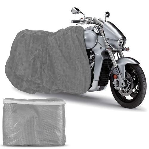 Capa Cobrir Moto Carrhel Impermeável Anti Uv Tamanho P M G