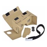 Kit 8 Google Cardboard Óculos Realidade Virtual 3d