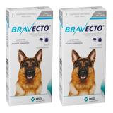2 Bravecto Anti Pulgas E Carrapato P Cães De 20kg A 40kg Ful