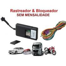 Rastreador Bloqueador Gps Veicular Moto, Carro, Caminhão.