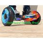 Hoverboard Aro 10 Fogo E Gelo, Modelo Com Auto Equilibrio