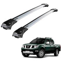 Rack De Teto Nissan Frontier Dupla 11 Em Diante Thule Edge
