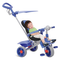 Triciclo De Passeio Smart Confort - Azul - Bandeirante