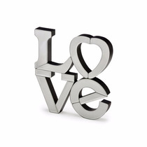 Enfeite De Mesa Love Espelhado