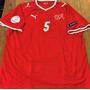 Camisa Suiça Euro 2008 Lichtsteiner #5 Completa Rara