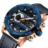 Relógio Masculino Naviforce Esportivo Luxo Original C/ Caixa