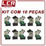 Kit Com 10 Leitor Óptico Playstation 2 Slim Original Co08