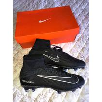 f643cb8f48 Promoção  Chuteira Nike Campo Mercurial Cano Longo Preta à venda em ...
