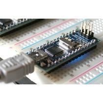 Kit Básico Arduino Nano - Automação Sensores + Protoboard