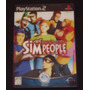 Game Playstation 2 - The Sims People - Japonês