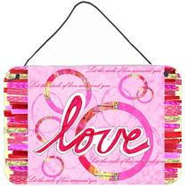O Amor É A Parede Do Dia De Um Círculo De Valentim Ou A Su