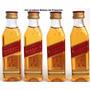 10 Unidades Miniatura Whisky Johnnie Walker Red Label 50ml