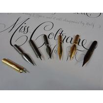 7 Penas Frete Grátis - Caligrafia E Desenho - Especiais