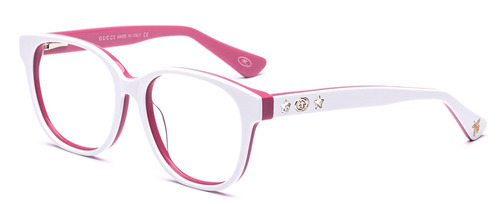 6ed5caed20306 Armação Oculos Grau Feminino Gg1750 Redondo Acetato - R  96 en ...