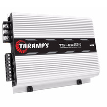 Modulo Taramps Ts400 X4 Digital De 400w Rms Rca Toca Bomber
