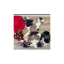 Kit 4 Vestidos Boneca Estampa Oriental Verão