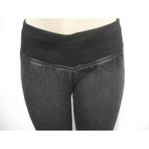 Calça Jeans Tam 38, Elástico Grosso Na Cintura Excelente