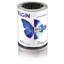 Dvd-r Elgin 4,7gb 120min 16x Pino C/100 - Printable