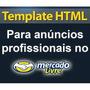 Template Html Para Anúncios Profissionais No Mercado Livre