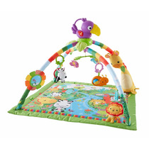 Tapete Bebe Fisher-price Rainforest Music And Lights Deluxe