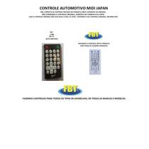 Controle Midi Japan Kr-37 Para Dvd Automotivo