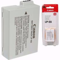 Bateria Canon Lp-e8 Original Lp E8 T4i T5i T6i Kiss X4
