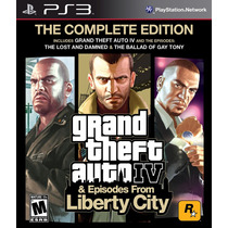 Jogo Gta Iv: The Complete Edition - Ps3 Take 2