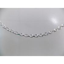 Corrente,cordão De Prata Masculina - Cadeado 3 - 925
