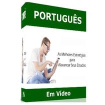 Curso 16 Dvds Português, Redação E Gramática Para Concursos