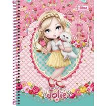 Caderno Espiral Universitário 10 Matérias Jolie 200 Folhas