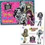 Kit Decorativo Painel Cartonado Festa Monster High +7 Peças