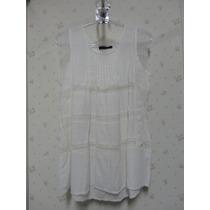 Blusa Branca - Blusinha Feminina - Renda - Regata - Babado