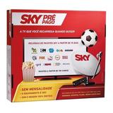 Receptor Sky Livre Por 01 Ano (aparelho Hd) C/ Globo & Sbt