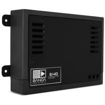 Novo Amplificador Banda 2.4d Digital 4 Canais 400w Rms