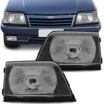 Farol Chevrolet Monza 1988 1989 1990 Lente Em Vidro