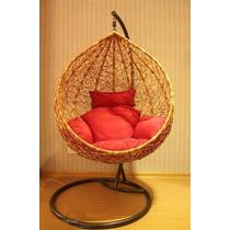 Cadeira Balanço Em Fibra Ninho Beija Flor