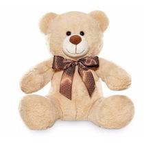 Urso De Pelúcia Bege Melhor Amigo Teddy Bear Buba Toys